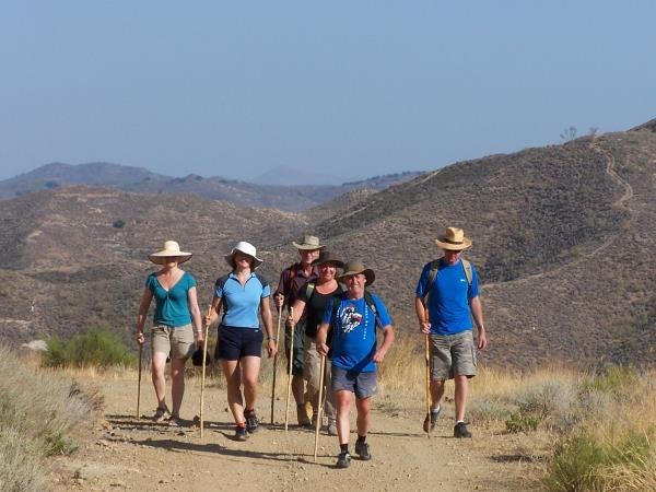 Andalucia centre based walking vacation in Spain