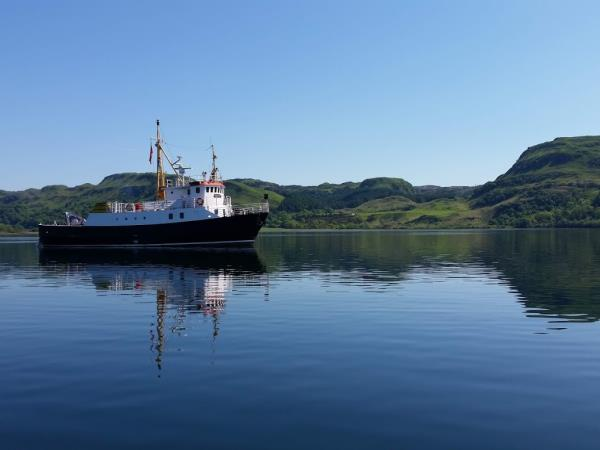Hebrides cruise, The Sounds of Mull, Luing, Shuna and Jura