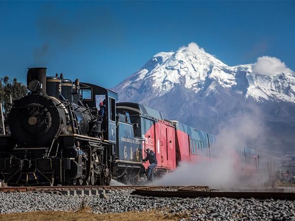 Ecuador railway vacation with Galapagos cruise