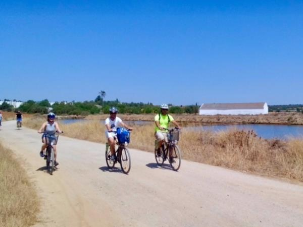 Eastern Algarve cycling small group holiday