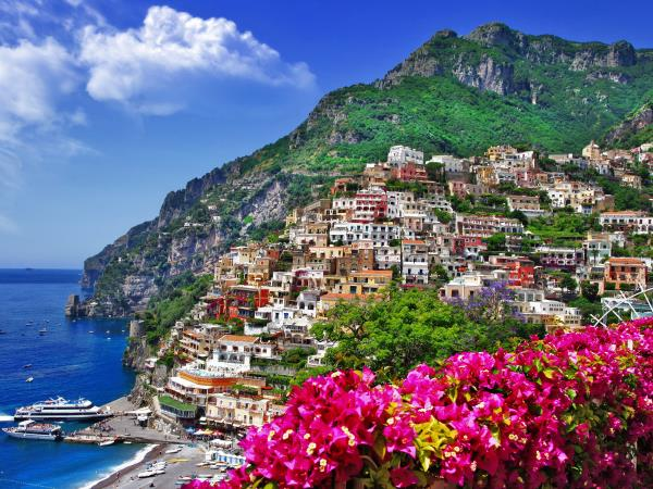 Amalfi coast family vacation in Italy