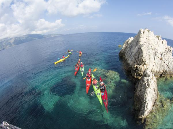 Kayaking skills holiday in Ionian Islands, Greece