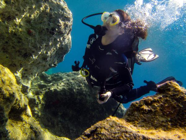 Learn scuba diving in Greece