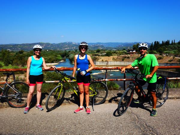 Cycling holiday in Greece, Peloponnese and Delphi