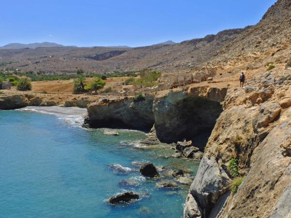 Crete guided hiking vacation