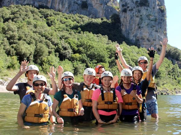 Ardeche family activity vacation in France