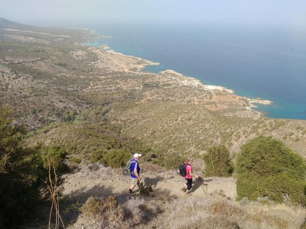 Self guided walking vacation, Cyprus