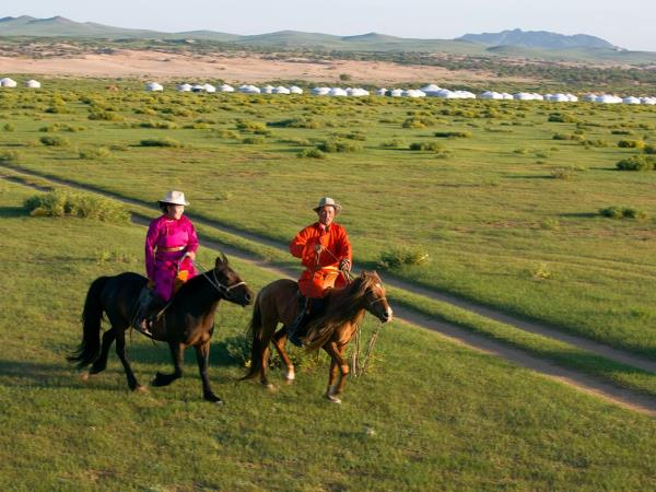 Mongolia nomad horse riding vacation