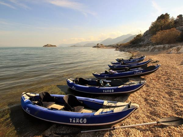 Montenegro to Albania kayak vacation