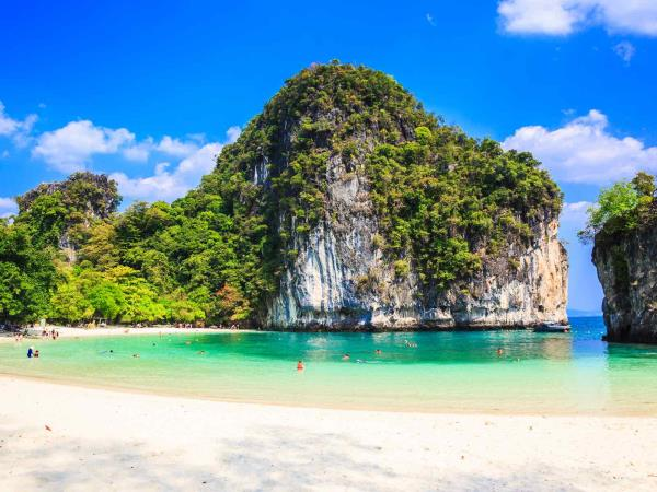Thailand culture and beach vacation