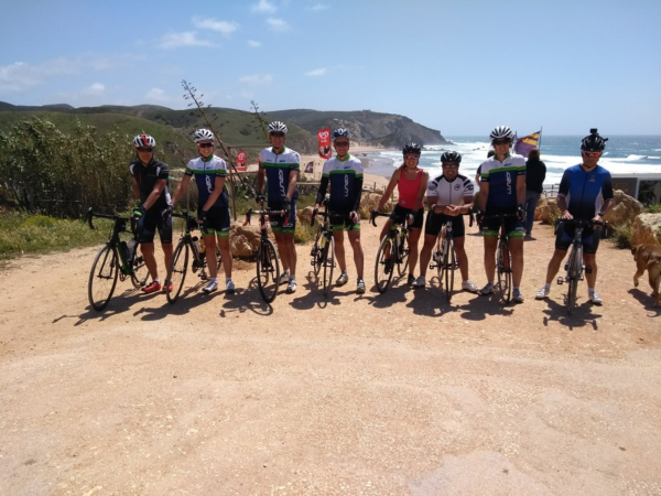 Cycling training camp vacation in Portgual