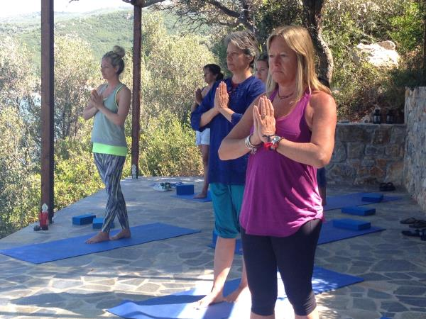 Yoga and Chakra healing vaction in Greece