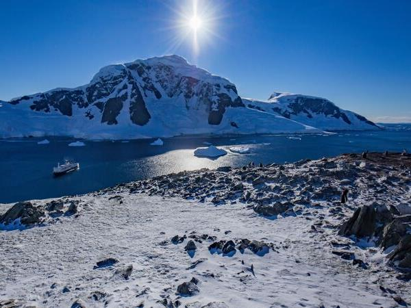Journey to the Antarctic circle vacation