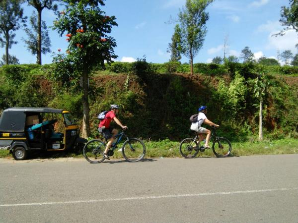 South India cycling tour