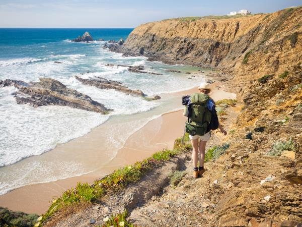 Coastal hiking vacation in Portugal