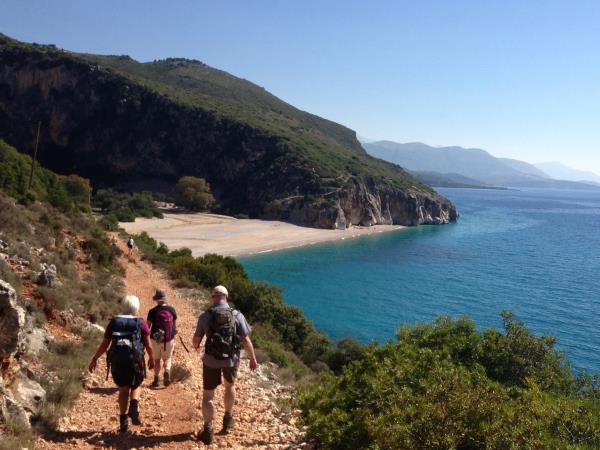 Walking in Southern Albania vacation