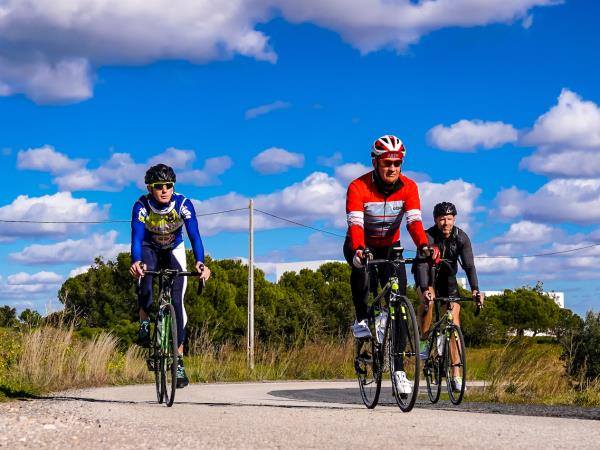 Eastern Algarve guided cycling vacation