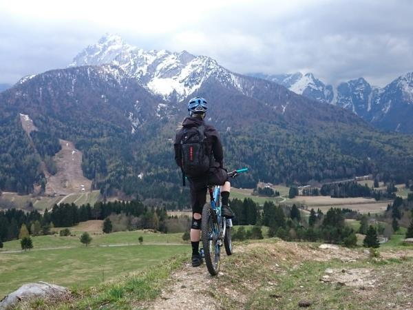 Women's mountain biking in Slovenia