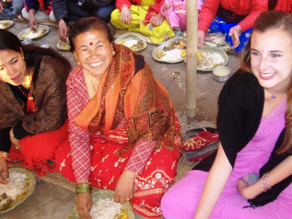 Women's empowerment volunteering in Nepal