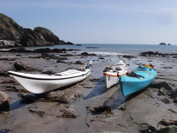 Devon sea kayaking vacation in England
