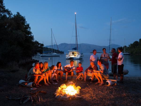 Ionian flotilla sailing holiday in Greece