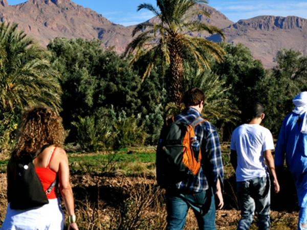 Morocco active tour, mountains, steppes and desert