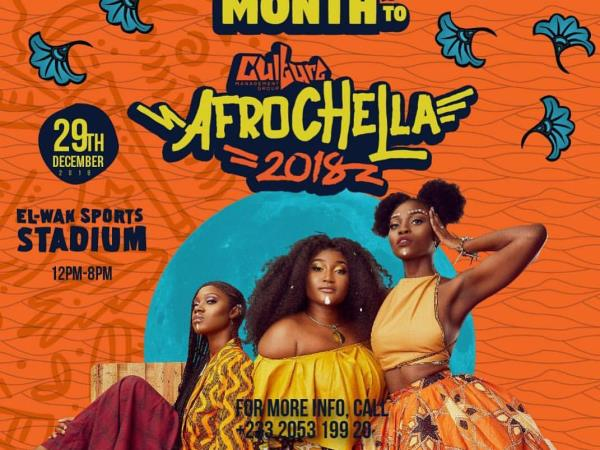 Afrochella festival vacation in West Africa