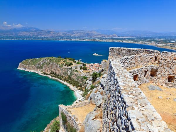Peloponnese walking vacation in Greece