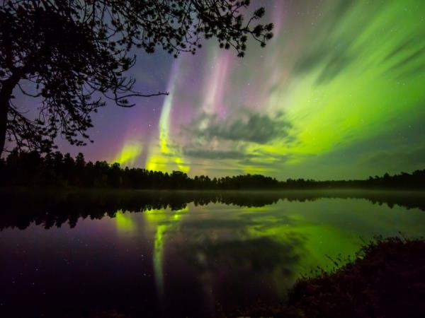 Lapland Autumn Northern Lights vacation