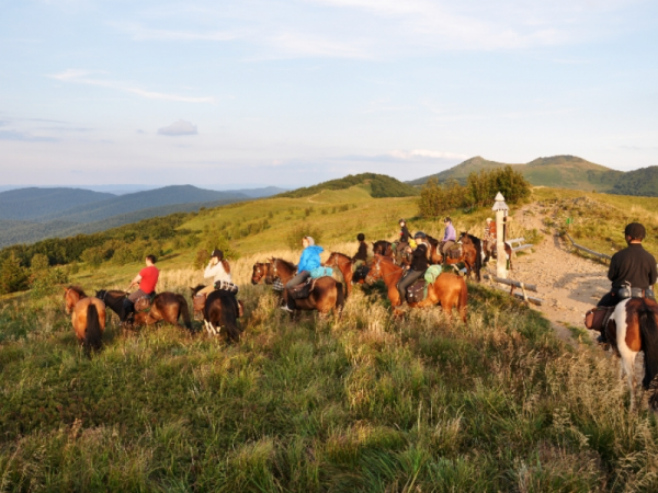 Poland horse riding vacation