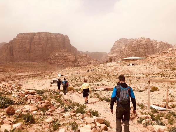 Jordan vacation, tastes and trails