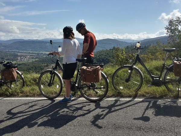 E-Bike vacation in Umbria and Tuscany