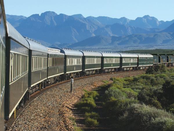 Luxury railway vacation in South Africa