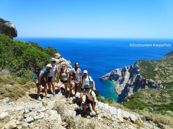 Karpathos hiking vacation in Greece