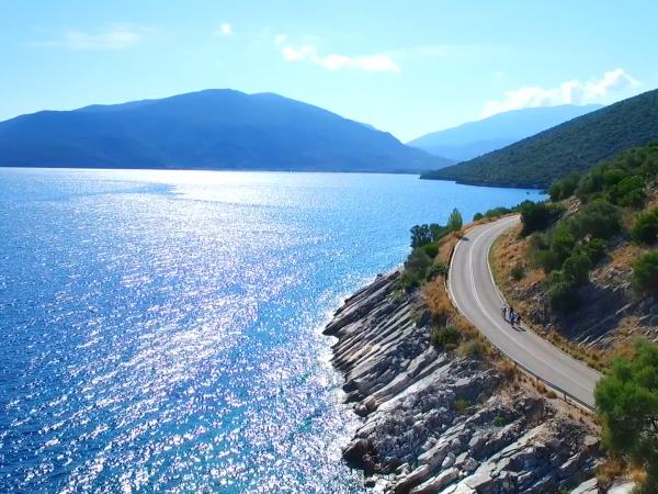 Cycling vacation in Kefalonia in spring