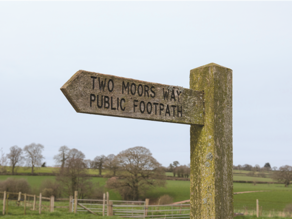 Dartmoor and Exmoor walking vacation