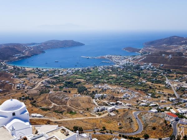 Cyclades islands sailing vacations in Greece