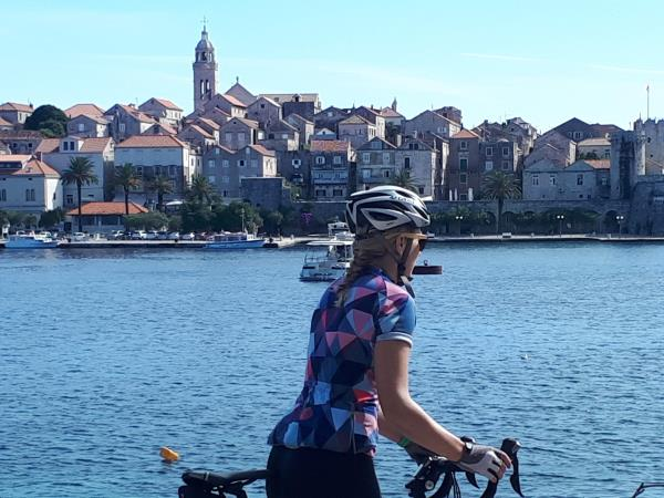 Self guided biking tour in Croatia
