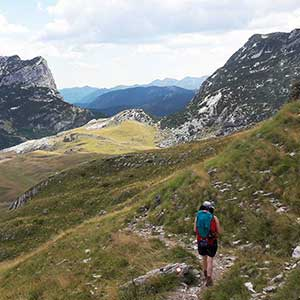 Montenegro walking holidays guide