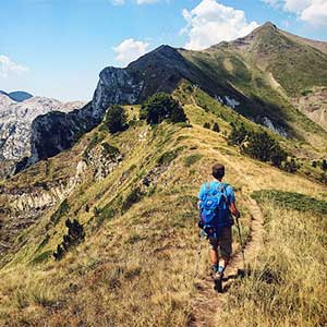 Walking routes in Montenegro