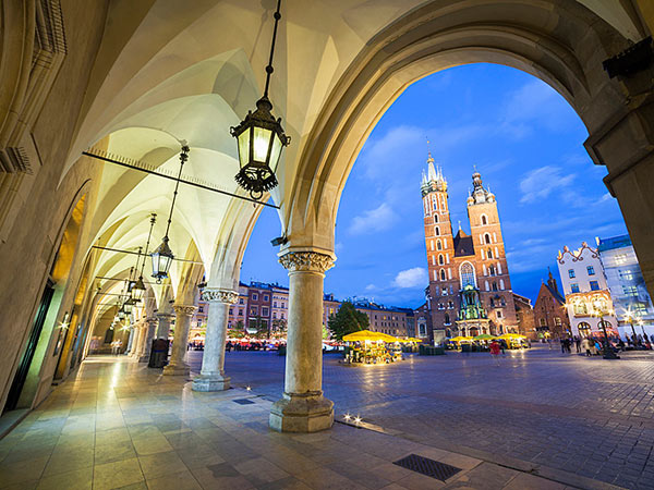 Poland vacation, small group tour