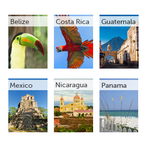 All our Central America guides