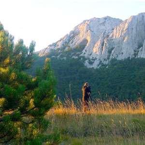Croatia walking routes
