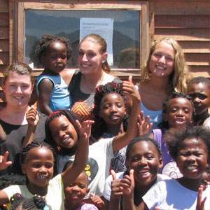 Community volunteering in South Africa
