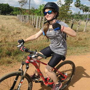 Family cycling holidays in Cambodia