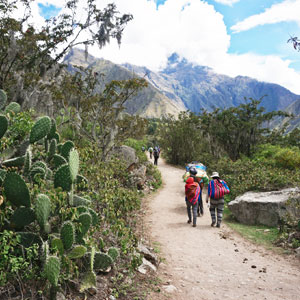 Other alternative Inca Trails
