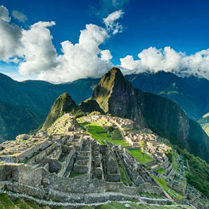 Travelling to Machu Picchu