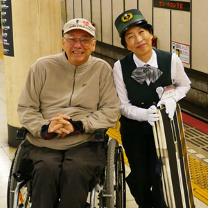 Wheelchair accessible holidays in Japan