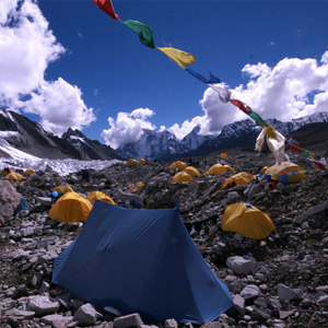 Everest Base Camp map & highlights