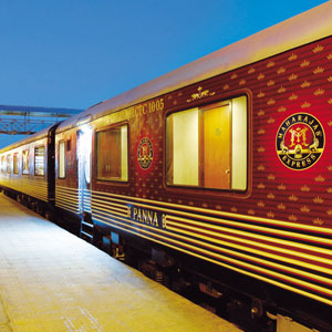 The Maharajahs Express, Rajasthan